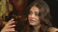 Aishwarya Rai Bachchan on the strenuous shooting schedules at the Raavan Event and Interviews Cannes Film Festival 2010 at Cannes
