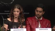 Aishwarya Rai Bachchan talks about Abhishek's and Chiyaan's relations on set at the Raavan Event and Interviews Cannes Film Festival 2010 at Cannes