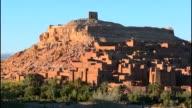 Ait Benhaddon Kasbah in Morocco