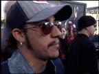 aj mclean at the 'Daredevil' Premiere on February 9 2003