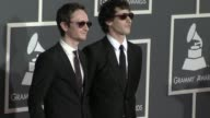 Akiva Schaffer Andy Samberg at the 52nd Annual GRAMMY Awards Arrivals at Los Angeles CA