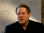 Al Gore interview more of above I respect those who do it I was a part of that system for a long time a very slim chance I might want to be again not...