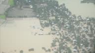 Al menos 46 personas perdieron la vida en las inundaciones registradas en Birmania desde hace días y que afectan a mas de 200000 personas...