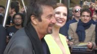 Al Pacino Jessica Chastain at 'Salome And Wilde Salome' Screening and QA at BFI Southbank on September 21 2014 in London England