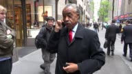 Al Sharpton at the NBC studios in New York NY on 4/25/2012