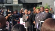 Al Sharpton leads protest in Los Angeles CA speaking out against the Oscars