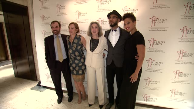 Alan Myers Nina Myers Marcia Robinson Lowry Swizz Beatz and Alicia Keys at 8th Annual Children's Rights Benefit at Four Seasons Restaurant New York...