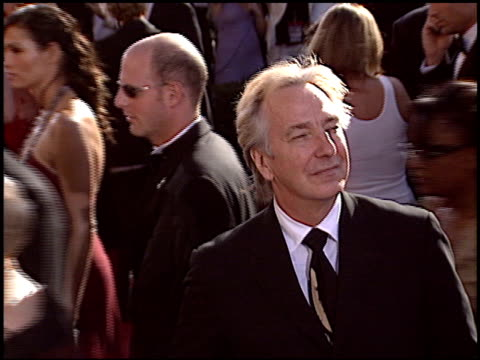 Alan Rickman at the 2004 Emmy Awards Arrival at the Shrine Auditorium in Los Angeles California on September 19 2004