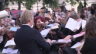 Alan Rickman at the Harry Potter and the Deathly Hallows Part Two World Premiere at London England
