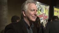 Alan Rickman at the 'Nobel Son' Premiere at Los Angeles CA
