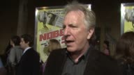Alan Rickman on his reaction if his son had been kidnapped about how long the movie took to film on making independent movies versus larger and his...