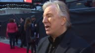 INTERVIEW Alan Rickman on how directing theatre has prepared him for film again and making Kate Winslet have an ice bath while pregnant at 'A Little...