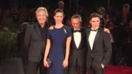 Alan Rickman Rebecca Hall Patrice Leconte and Richard Madden at the 'Une Promesse ' Red Carpet in Venice Italy on 9/4/13