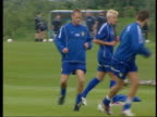 Alan Smith charged over bottle incident ITN Smith training with other Leeds United players