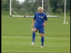 Alan Smith dropped from England squad ITN Leeds Smith training