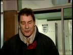 Alan Smith dropped from England squad ITN MS England Manager SvenGoran Eriksson along PAN London i/c