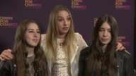 INTERVIEW Alana Haim Danielle Haim Este Haim on the event at 'Sound Of Change' Concert on 6/1/2013 in London UK
