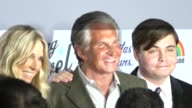 Alana Stewart George Hamilton Ashley Hamilton at the Being Evel Premiere at ArcLight in Hollywood at Celebrity Sightings in Los Angeles on August 19...