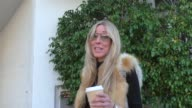 INTERVIEW Alana Stewart talks about if Donald Trump will damage freedom of press while shopping in Beverly Hills in Celebrity Sightings in Los Angeles