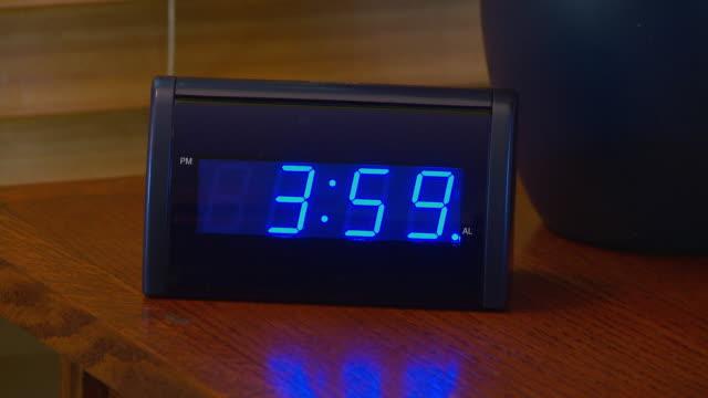 Alarm clock going off at 4 AM