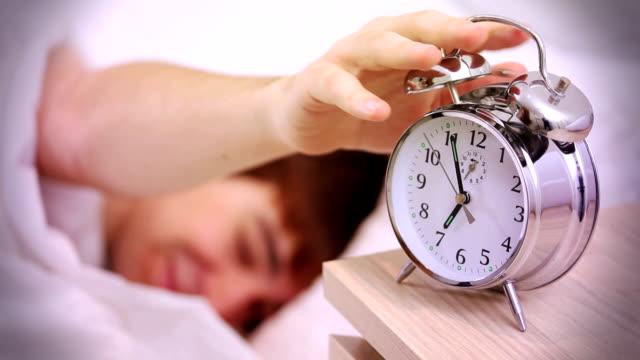 Alarm clock, morning wake up.