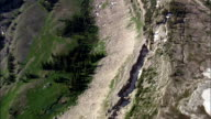 Alaska Basin Escarpment  - Aerial View - Wyoming,  Teton County,  helicopter filming,  aerial video,  cineflex,  establishing shot,  United States