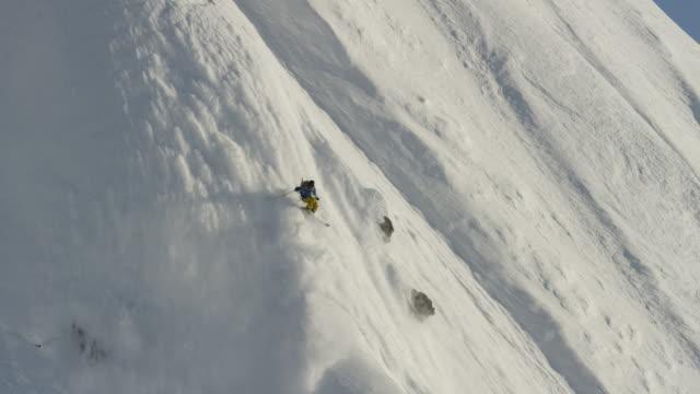 Alaskan Spine Skiing