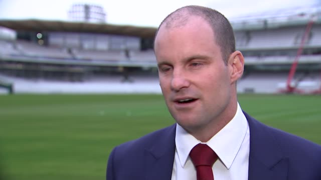 Alastair Cook steps down as England test captain Alastair Cook steps down as England test captain ENGLAND London Lord's EXT Andrew Strauss interview...