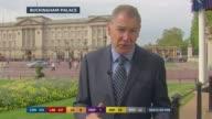 Alastair Stewart EXT Tim Ewart LIVE 2WAY interview from Buckingham Palace SOT INT STUDIO Aliatair Stewart EXT Chris Ship LIVE 2WAY interview from...