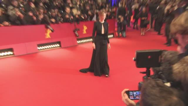 Alba Rohrwacher at 'Hail Caesar' Opening Ceremony Red Carpet 66th Berlin International Film Festival at Grand Hyatt Hotel on February 11 2016 in...