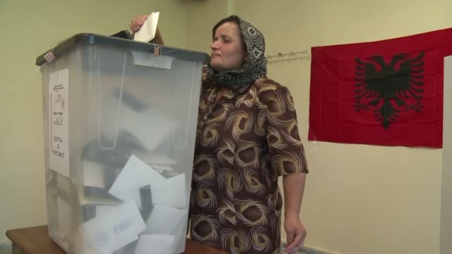 Albanians cast their votes in a parliamentary election hoping to end a tradition of fractious and disputed polls and prove the country's readiness to...