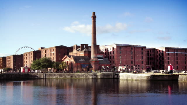Albert Dock in Liverpool, Großbritannien