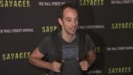 Albert Hammond at 'Savages' New York Premiere at SVA Theater on June 27 2012 in New York New York