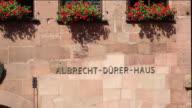 CU PAN Albrecht Duerer's House in Nuremberg