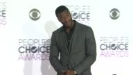Aldis Hodge at the People's Choice Awards 2016 at Nokia Plaza LA LIVE on January 6 2016 in Los Angeles California