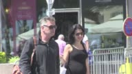 Alec Baldwin and girlfriend walking casually on La Croisette in Cannes Cannes France May 22nd 2013