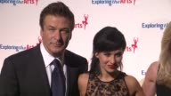 Alec Baldwin and Hilaria Thomas at 6th Annual Exploring The Arts Gala at Cipriani 42nd Street on October 04 2012 in New York New York