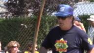 Alec Baldwin at the Hamptons Artists Writers Softball Game 8/20/11