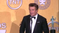 Alec Baldwin on the event on his SAG Award win for Male Actor in a Comedy Series on politics and on if he still plays Words with Friends at 18th...