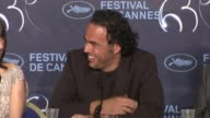 Alejandro Gonz_lez I_rritu on the difficulty on making the film at the Biutiful Press Conference Cannes Film Festival 2010 at Cannes