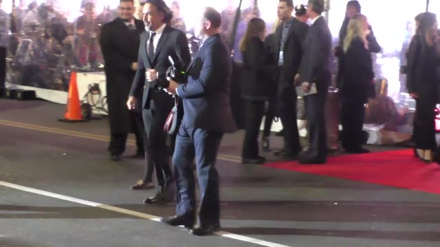 Alejandro Gonzalez Inarritu arriving to The Revenant Premiere at TCL Theatre in Hollywood Celebrity Sightings on December 16 2015 in Los Angeles...