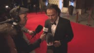 INTERVIEW Alejandro Gonzalez Inarritu on giving it all for the award being cold Oscar hopes at EE British Academy Film Awards after party at...