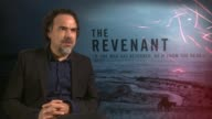 INTERVIEW Alejandro Gonzalez Inarritu on Leonardo DiCaprio winning an Oscar he's not doing this film to win awards at 'The Revenant' Junket on...