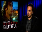 Alejandro Gonzalez Inarritu on the Golden Globe nomination at the 'Biutiful' Junket at Los Angeles CA