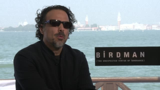 INTERVIEW Alejandro González Iñárritu on man's constant struggle with ego at 'Birdman' Interviews 71st Venice International Film Festival at Hotel...