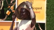 Alek Wek at The Fifth Annual Veuve Clicquot Polo Classic at Liberty State Park on June 02 2012 in Jersey City New Jersey