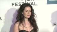 Aleksa Palladino at the 2011 Tribeca Film Festival 'The Bang Bang Club' Premiere at New York NY