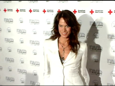 Aleksa Palladino at the DVD Exclusive Awards at California Science Center in Los Angeles California on February 8 2005