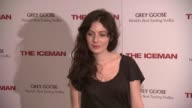 Aleksa Palladino at 'The Iceman' New York Screening at Chelsea Clearview Cinema on April 29 2013 in New York New York