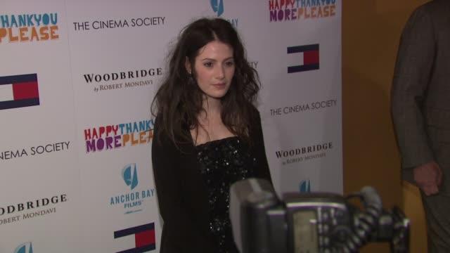 Aleksa Palladino at the Premiere of 'happythankyoumoreplease' at New York NY